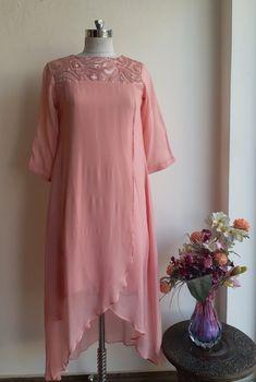 Blush Pink Overlap Tunic