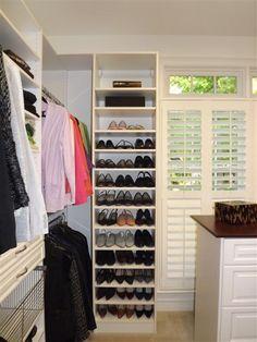 Shoe Racks for Closets | Closets | Louisiana Custom Closets