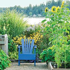 Farmers' market garden | Inviting focal points | Sunset.com