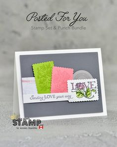 nice people STAMP! - Stampin' Up! Canada: Two Easy Cards Anyone Can Make | VIDEO Tutorial | Stampin' Up! Posted For You Bundle