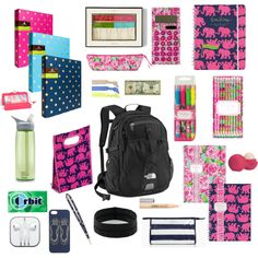 What's in my school backpack