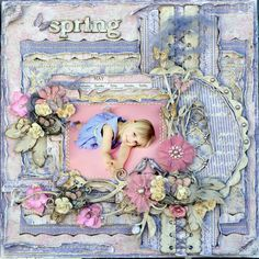 Spring - Scrapbook.com  This is one of this weeks top 10 layouts.