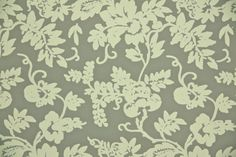 1950's Vintage Wallpaper  Floral Wallpaper of by HannahsTreasures