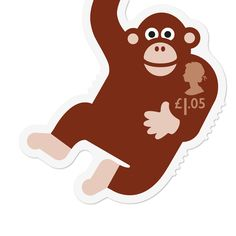 London design studio Osborne Ross has created a set of six animal-shaped Royal Mail stamps designed to appeal to children Royal Mail Stamps, Royal Mail Postage, Postage Stamp Design, Postage Stamps, Graffiti Text, Year Of The Monkey, Branding, Penny Black, Mail Art