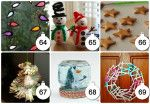 christmas crafts and saltdough