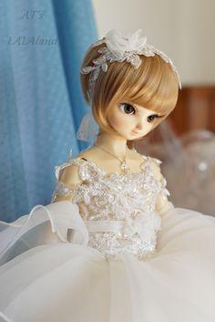 Volks SD13 Nono wedding dress by ATs LALAland
