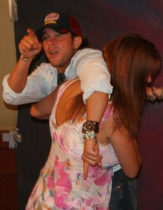 ..This is #ChristianKane... actor ..singer.. songwriter..stuntman.. cook!      Christian Kane & Stephanie Romanov  pic shared by >> everystockphoto.com