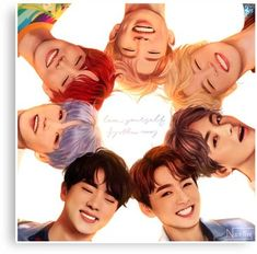 OT7 Love Yourself | Love Myself Canvas Print
