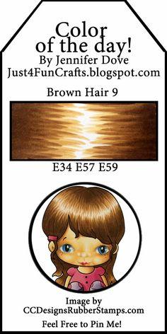 brown hair 9