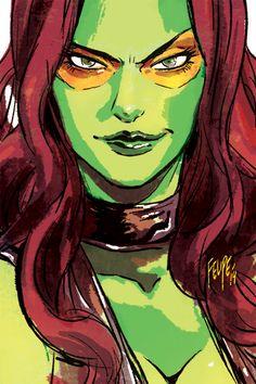 Gamora: No-nonsense Intergalactic Assassin by FelipeSmith.deviantart.com on @DeviantArt