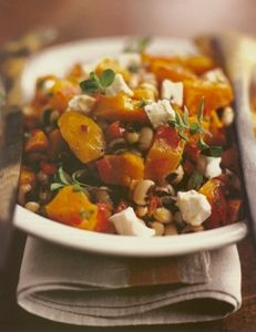 Foster's Market Black eyed pea salad with Roasted Butternut Squash (or Sweet Potato) & Goat Cheese. Remember this one Ballisty Ballisty Soliman Schwender & Teske Goldsworthy Teske Goldsworthy Todd Savory Salads, Appetizer Salads, Healthy Salad Recipes, Big Salad, Soup And Salad, Black Eyed Pea Salad, Sara Foster, Goat Cheese Salad, Roasted Butternut Squash