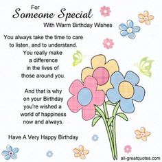 Special Birthday Wishes . Best 20 Special Birthday Wishes . Happy Birthday Wishes for Your Friends Birthday Wishes For A Friend Messages, Happy Birthday Wishes Friendship, Happy Birthday Wishes For A Friend, Romantic Birthday Wishes, Birthday Wish For Husband, Happy Birthday Best Friend, Birthday Wishes For Daughter, Birthday Wishes Funny, Happy Birthday Quotes