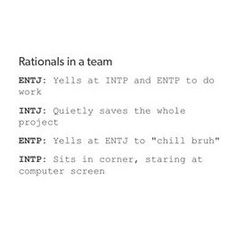Quietly saving the whole project for my entire life #intj #intjfemale