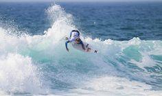 Lakey Peterson (USA) #ROXYpro. Roxy Pro France 2014 www.roxy.com  #ROXYsurf www.worldsurfleague.com kirstinscholtz @Roxy   By Roxy