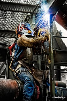 I would like to be a welder when I grow up.