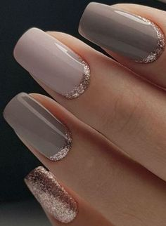 Pink and Taupe and Rose Gold