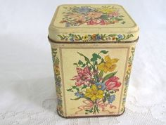 Vintage Tin from Hallmark Floral Designs