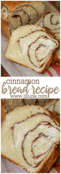 The BEST Cinnamon Bread recipe ever! So soft! This will be gone in minutes!The BEST Cinnamon Bread recipe ever! So soft! This will be gone in minutes! Yeast Bread Recipes, Cinnamon Bread Recipe Yeast, Cinnamon Cake, Dessert Bread Machine Recipes, Soft Bread Recipe, Cinnamon Pretzels, Bread Maker Recipes, Breakfast Bread Recipes, Cinnamon Recipes