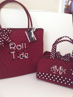 Time for a new Alabama purse! :-) $30.00