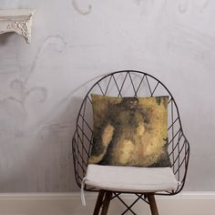 Rock Giant Oil Painting Print Pillow Afternoon Nap, Pillow Fight, Hanging Chair, Painting Prints, Oil, Pillows, Furniture, Home Decor, Hammock Chair