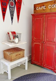Easy DIY project....hanging shelf
