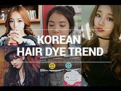 Korean Hair Dye Trend & Self Hair Dying Tips by WishtrendTV.com