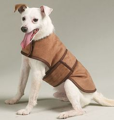 Dog Winter coat sewing pattern. my little pup could really use this for like the whole 3 weeks of real cold we get
