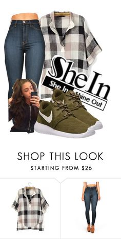 """Untitled #81"" by carlace ❤ liked on Polyvore featuring NIKE"