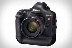 Canon EOS-1D C Cinema Camera ($15,000). Based on the EOS-1D X, the 1D C provides a DSLR-style body, an 18.1-megapixel full-frame CMOS sensor capable of 4096 x 2160 video recording, ISO 25,600 sensitivity for outstanding low light performance, dual DIGIC 5+ image processors, compatibility with over 60 interchangeable Canon EF and EF Cinema lenses, and — of course — all the still-image chops of the 1D X.