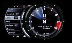 Lexus LFA instrument cluster