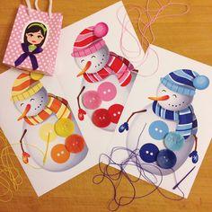 """""""Pia Polya Kardanadam Düğme Dikme Etkinliği"""" 4 yaş üstü çocuklar için uygundur."""