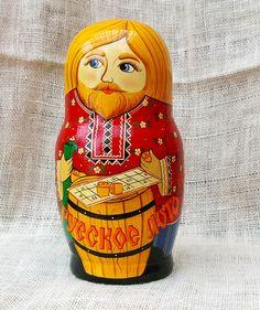 Traditional russian Doll Bingo theme by TrellisLaneVintage on Etsy, $198.00  #bingo #russian