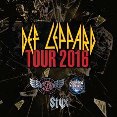 GoRockfest.Com: Def Leppard Tour Dates 2016