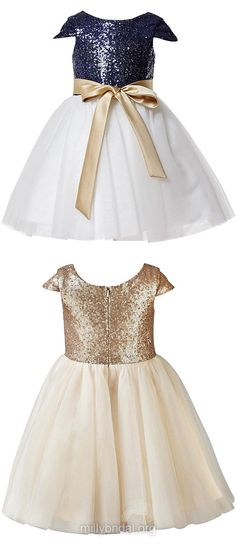 Cute Flower Girl Dresses,Toddler Dresses, Beading Newborn Baby Dresses, Girls Tutu Dresses, Infant Little Girls Pageant Dresses