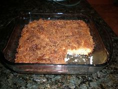 No one will even know this moist and delicious coffee cake is gluten free. This recipe was not tested in the Bob�s Red Mill Kitchen but was submitted by a customer who wanted to share a recipe they enjoyed with others.