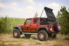 Turn Your JK Jeep Wrangler Into a Soft-Top Convertible with Rugged Ridge PowerTop