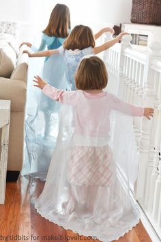 Frozen)....a Do-It-Together Project for girls of all ages! --- Make It and Love It