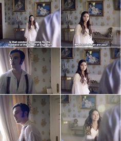 After Albert takes a swim. Victoria S2.