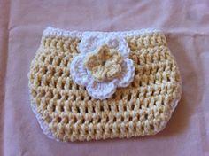 Not My Nana's Crochet!: Crochet Cotton Diaper Cover - Free Pattern