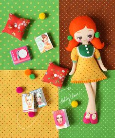 adorable doll pattern (in progress) - Danielle Thompson