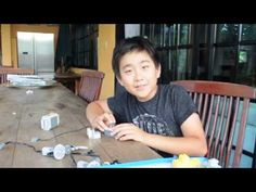 How to build a lego power function boat (1) - by James Illingworth - YouTube