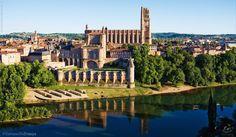 Você sabia?  A cidade de Albi foi classificada como Patrimônio Mundial da UNESCO.