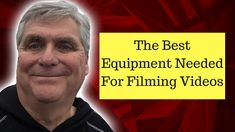 The Best Equipment Needed For Filming Videos https://www.youtube.com/watch?v=7yatD6t9oHk
