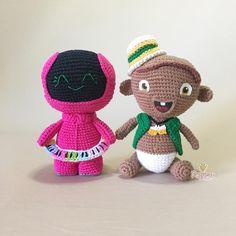 Pow, Crochet Hats, Teddy Bear, Handmade, Animals, Characters, Buen Dia, Cross Stitch, Tejidos