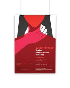 Event poster design made for the University of Bridgeport's talk, promoted by Breakthrough. Human Rights Organizations, Event Poster Design, Women Poster, Brand Guidelines, Girl Day, Logo Ideas, Lab, Poster Prints