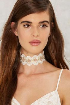 Factory Charlotte Lace Choker | NASTY GAL saved by #ShoppingIS