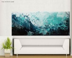 painting Large Abstract Painting hidden by ElenasArtStudio on Etsy andy loves
