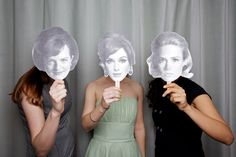 Mad Men party, photobooth props!