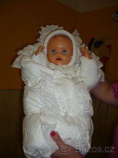 RETRO PANENKA V ZAVINOVAČCE - 1 Girls Dresses, Flower Girl Dresses, Strollers, Baby Dolls, Nostalgia, Childhood, Memories, Wedding Dresses, Vintage