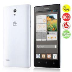 HUAWEI G700 Quad Core 3G Smartphone w/ MTK6589 5.0 Inch IPS Screen 2GB+8GB Dual SIM GPS WiFi - Black + White http://chinavision.mabisy.com/huawei-g700-quad-core-3g-smartphone_p758833.htm